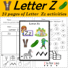 Letter of the Week Z