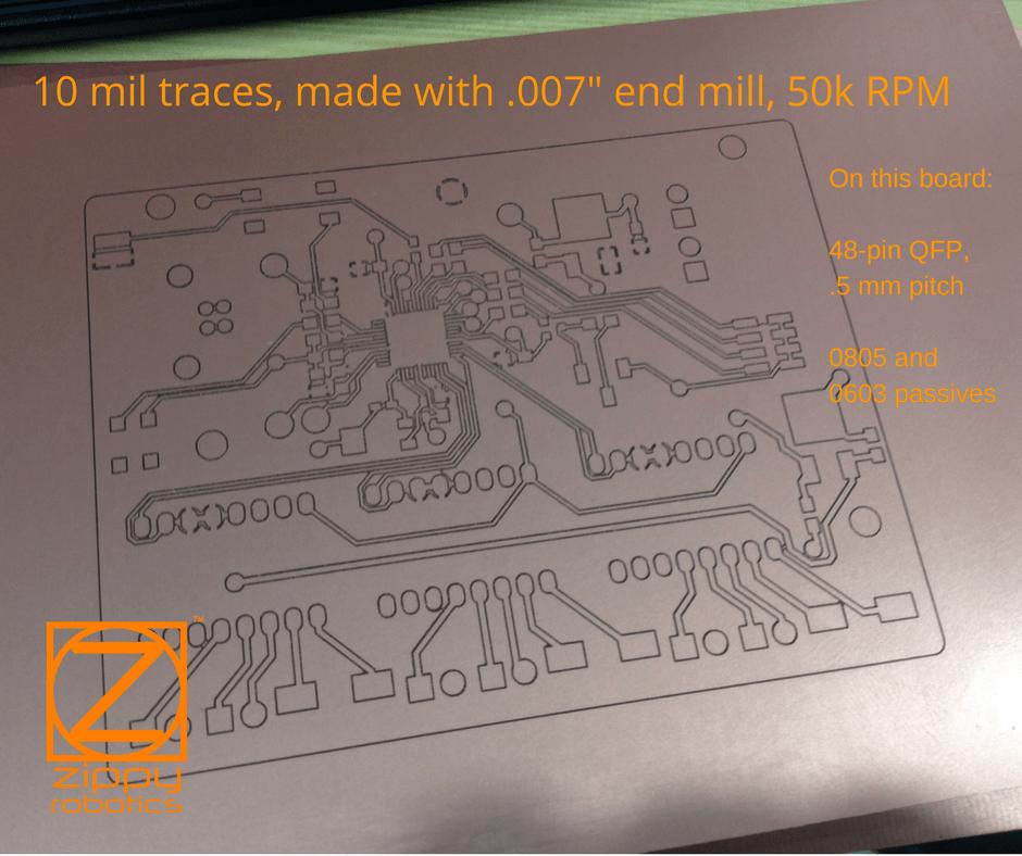 Prometheus PCB Milling Machine - Zippy Robotics, Inc