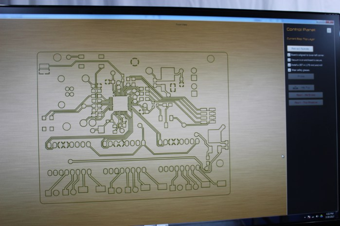ProCAM PCB Preview Before Milling