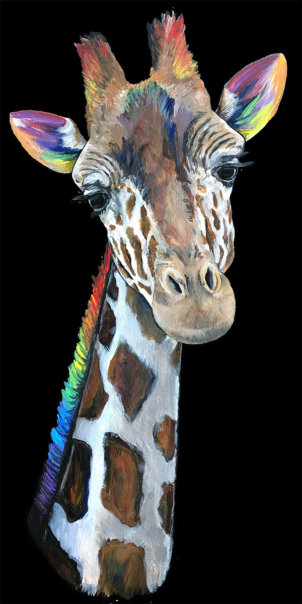 giraffe | spectrum artwork
