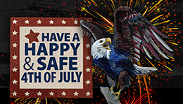 Happy Independence Day - Old Glory Eagle
