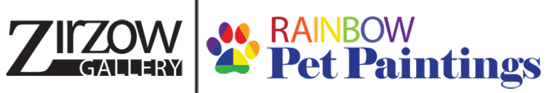 Rainbow Pet Paintings Official Logo