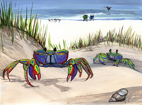 The Young Crab & His Mother