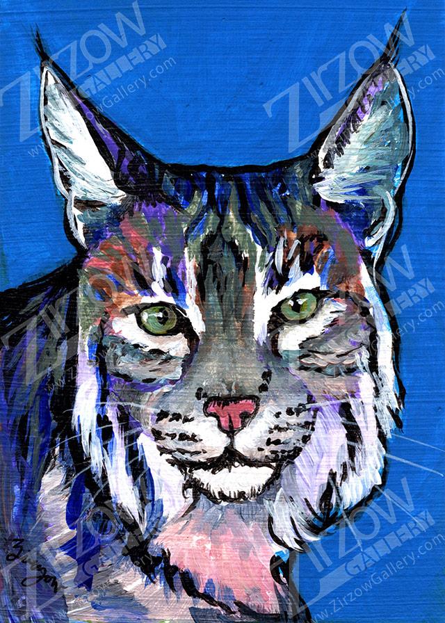 Bobcat Miniature Masterpiece