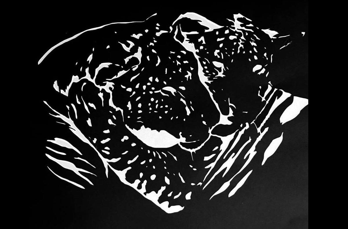 Ligers Stencil