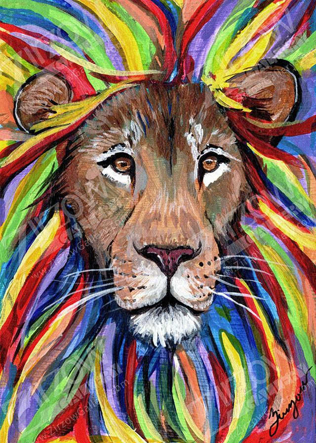 Lion Miniature Masterpiece