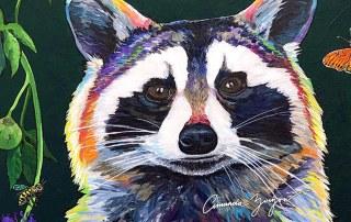 The Raccoon and the Honey Bee by Amanda Zirzow