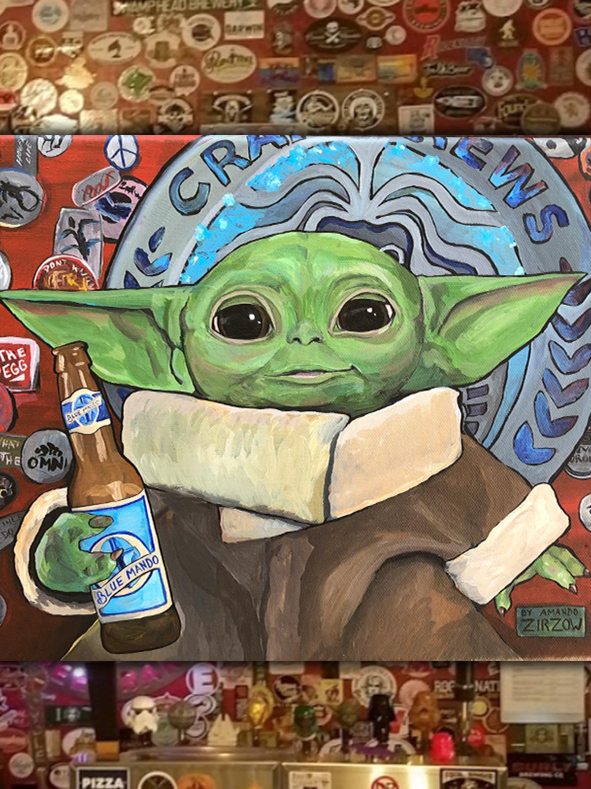 Amanda Zirzow Blue Mando No. 3 Craft Beer