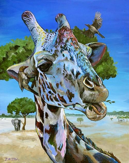 The Speckled Giraffe by Amanda Zirzow