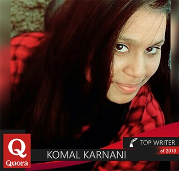 komal karnani quora top writer