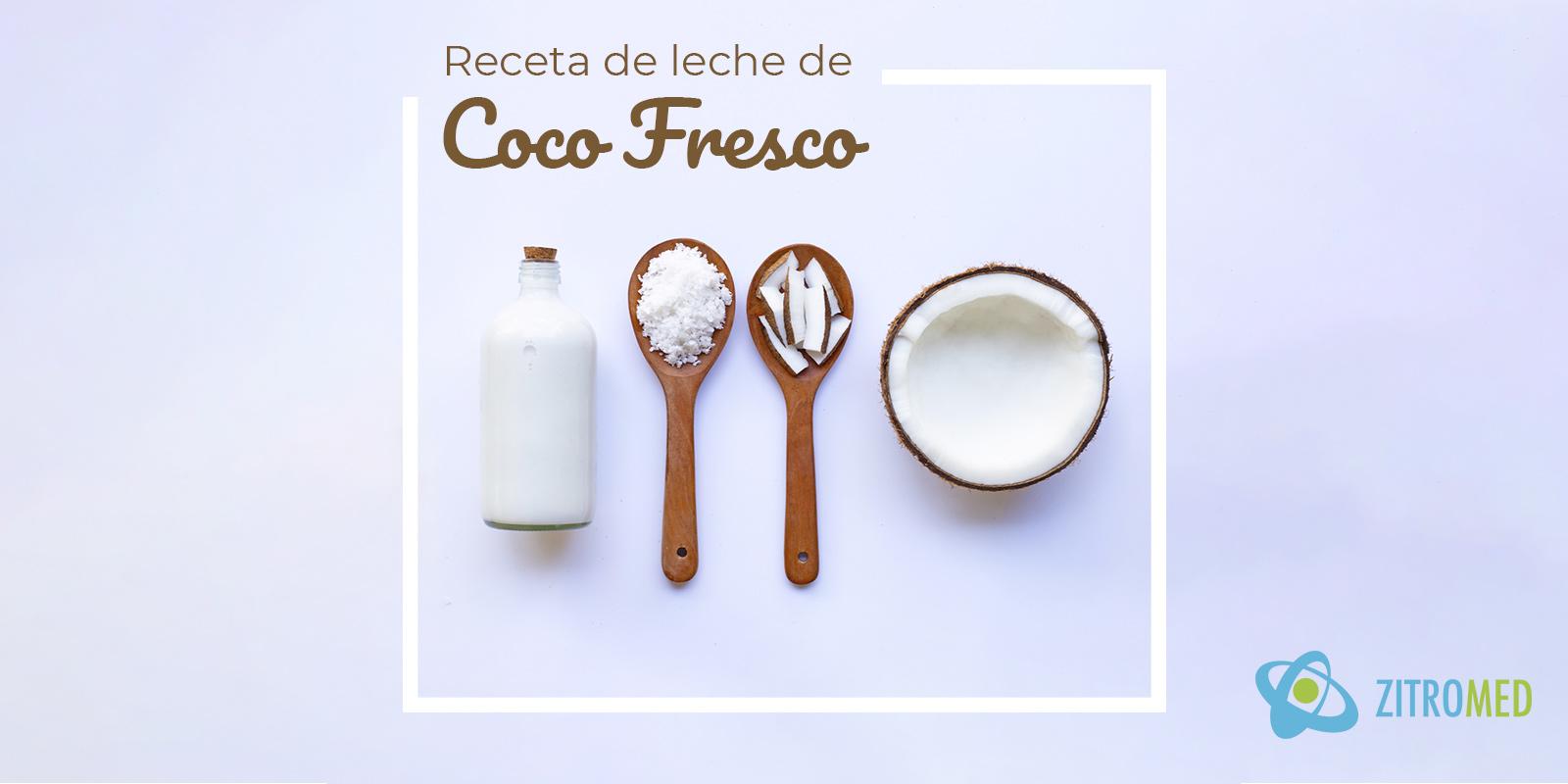 Receta de Leche de Coco Fresco