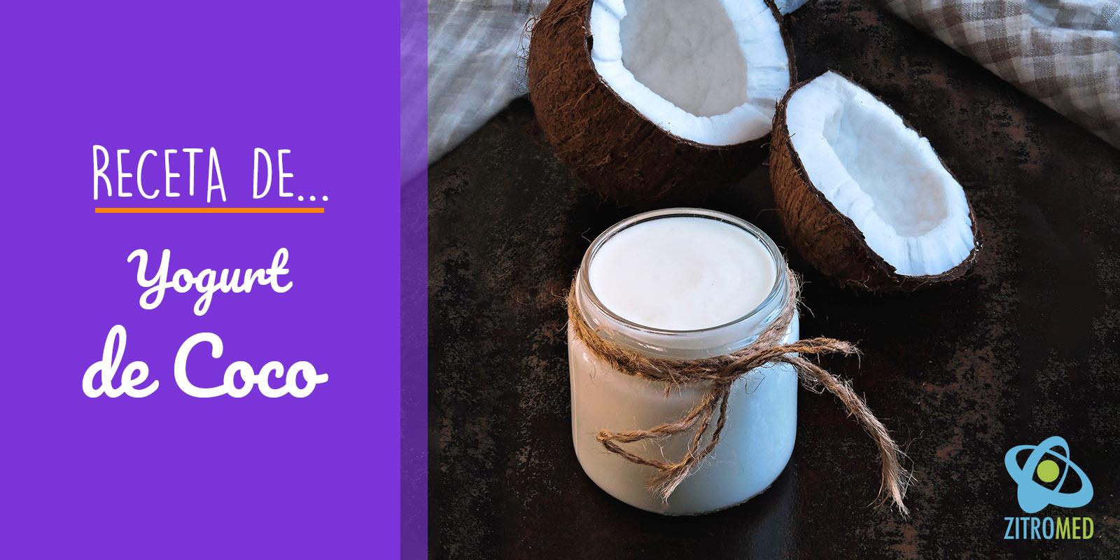 Receta de Yogurt de Coco