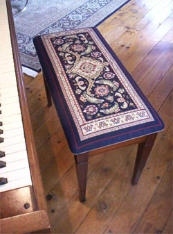 Needlepoint Seat Covers Creative Custom Designs For Your Home