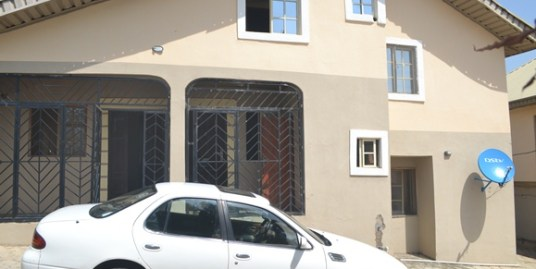 3-Bedroom Bungalow for Rent at FHA Lugbe