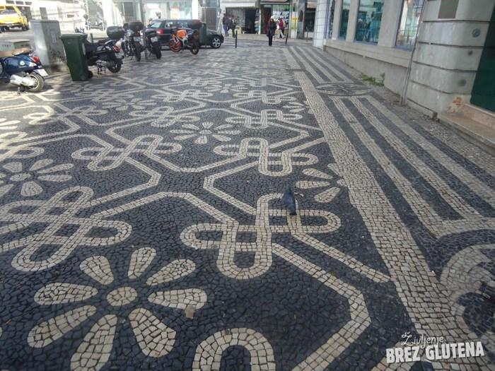 20 lizbona tlakovane ulice