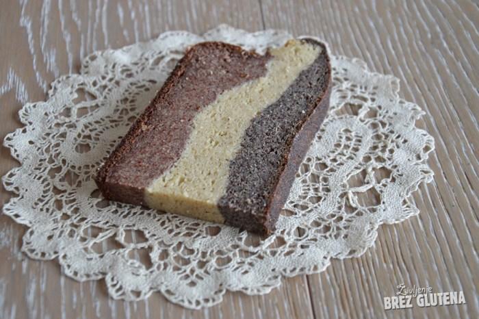 brezglutenski kvinojin kruh z indijskim trpotcem 10