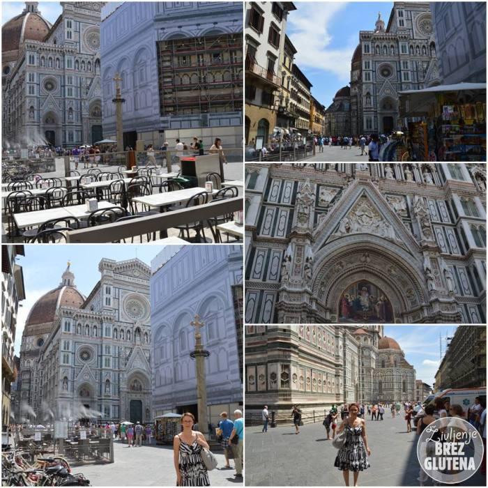 Katedrala Santa Maria del Fiore celiakaš v firencah