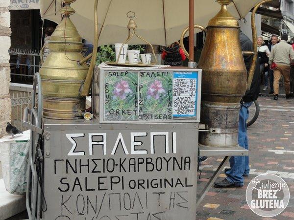 salepi grški čaj