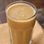 Superfood Breakfast: Pumpkin Almond Milk Smoothie With Cinnamon