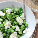 Peas And Broad Beans Salad from Regula Of The Miss Foodwise Blog