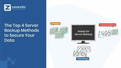 The Top 4 Server Backup Methods to Secure Your Data