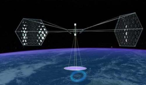 space solar panel