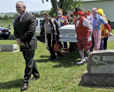 Funeral Clown