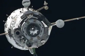Photo of a Soyuz spacecraft in orbit. Credit: NASA