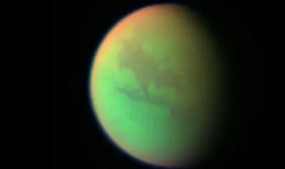 titan methane haze