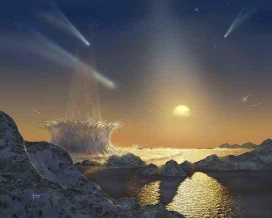 Habitable planet in Tau Ceti system