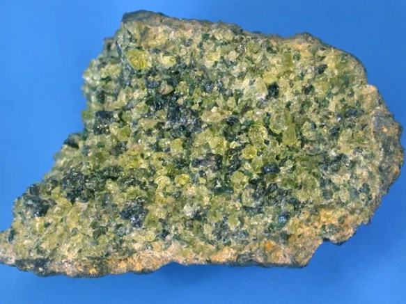 A surfaced volcanic rock - peridotite