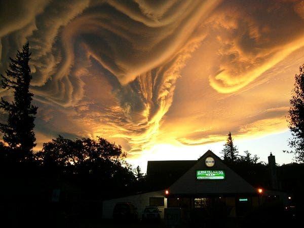 Asperatus Cloud, New Zealand. Photo: Merrick Davies.