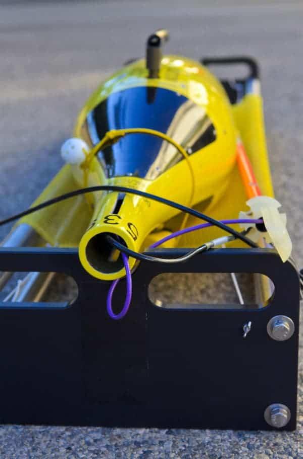 "Caltech Seaglider SG539 (""Queequeg""). Credit: Lance Hayashida/Caltech Marketing & Communications"