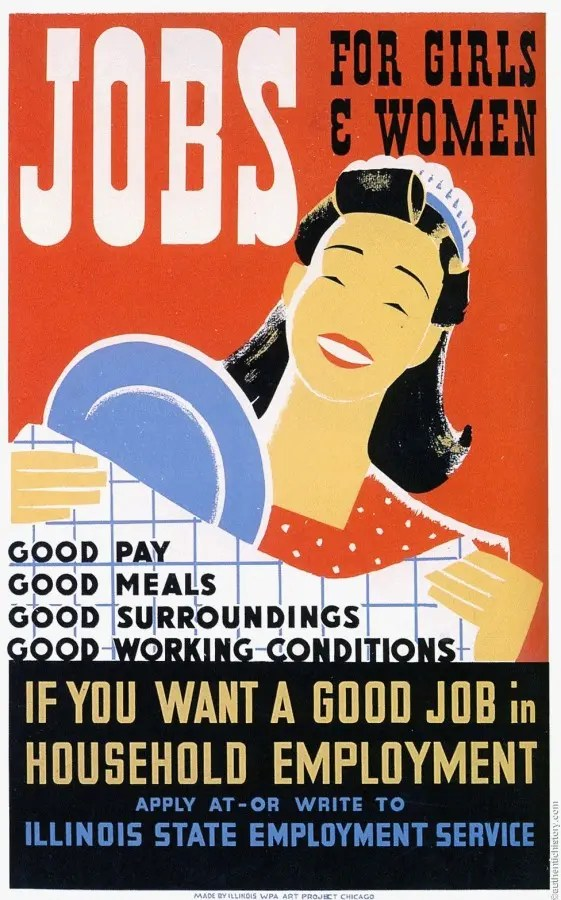 Jobs, eyes and syphilis: creative posters from the 30s and 40s