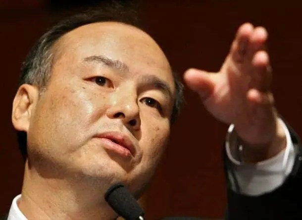 Photo: Masayoshi Son. Credit: Corporate Executives.