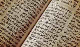 German text.