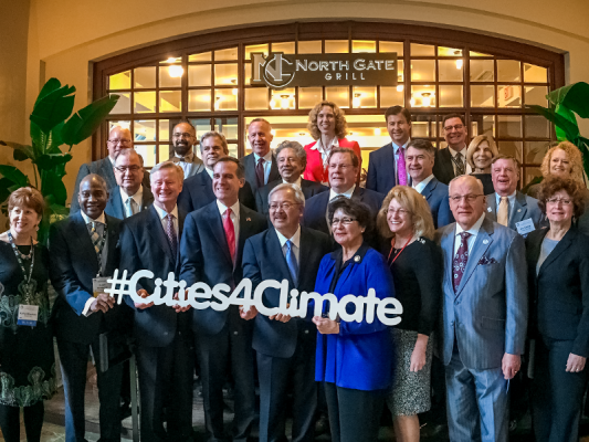 Credit: Climate Mayors.