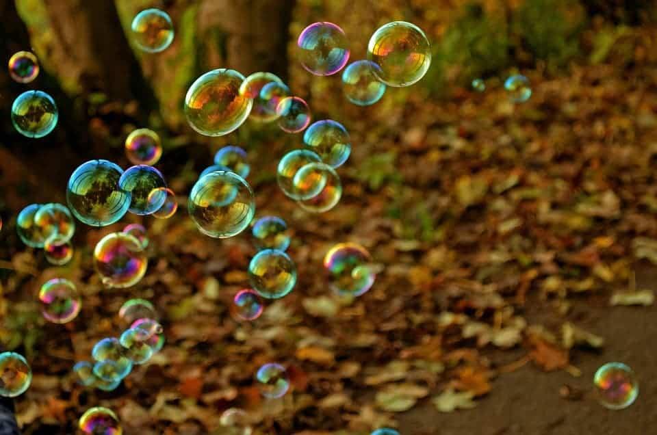 Bubble crowd.