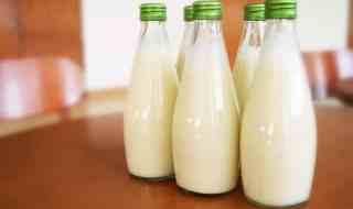 Milk Bottles.