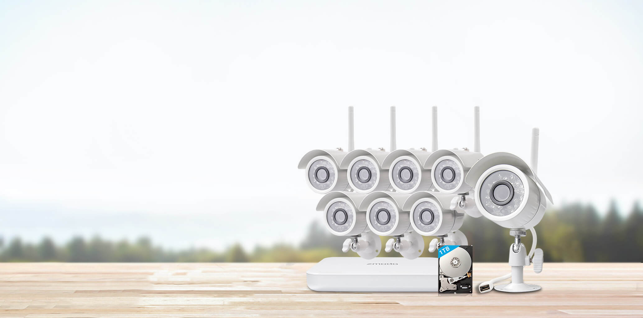Zmodo Wireless Security Camera Setup