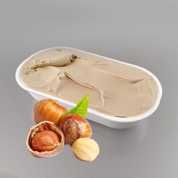 Zmrzlina lískové oříšky