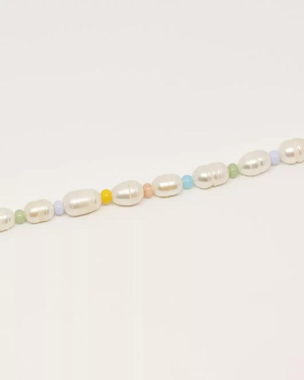 Bracelet perles de rocailles perles de culture