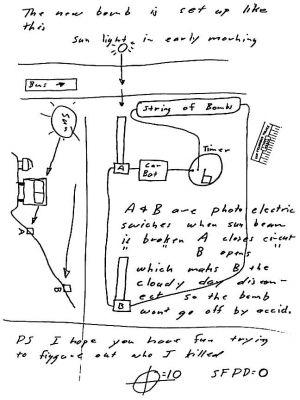 Image result for Zodiac Killer letter, April 20th 1970