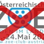 ZOE Treffen 2020 abgesagt