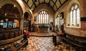 Godolphin Chapel, St Brecea Church,Breage, Cornwall.