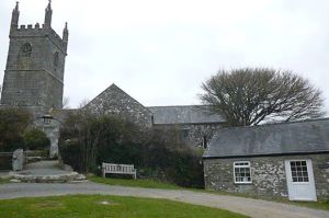 St Mawgan in Menage Church & Vyvyan Coach House