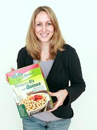 Die Gründerin der FoodOase Sandra Neuber