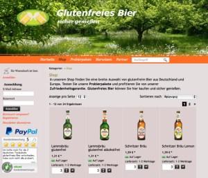 Glutenfrei-Bier