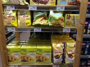 Kleiner Supermarkt in Rabland