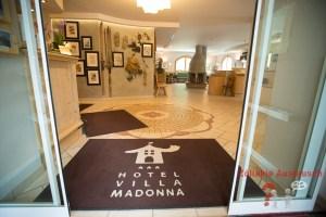 Eingang Villa Madonna